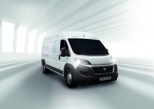 Parcel Courier Delivery Van