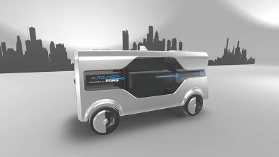 Ford Autolivery Self Driving car