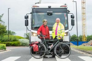 City of Edinburgh council has upgraded its waste fleet with cycle safety equipment with a view to preventing collisions between cyclists and lorries.