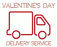 vALENTINES DAY DELIVERY SERVICE