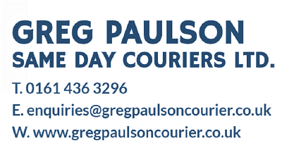 Greg Paulson Same Day Couriers Ltd. Manchester.